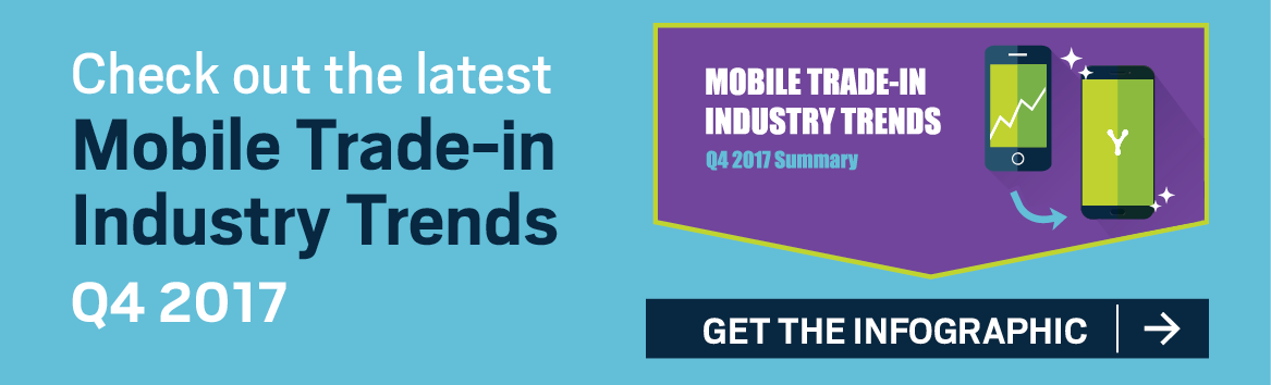 Infographic: 2017 Q4 Mobile Trade-In Trends