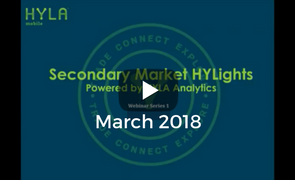 Secondary Market HYLights Webinar: March 2018