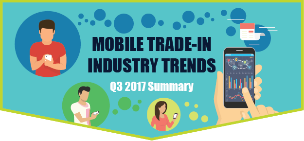 Graphic for mobile trade-in industry trends Q3 2017